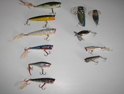 Fall Lures - Poppers