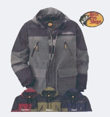 Fishing Apparel Includes a Good Waterproof Rainsuit - Gore-Tex