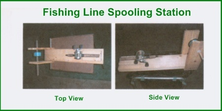 Fishing Line Spooling Station