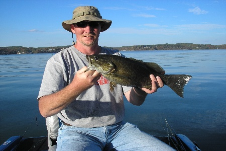 Small Mouth Bass Caught By John at Pickwick