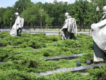 Korean War Memorial - Help Get Our Vets There So They Can Finally Feel Our Gratitude - Help Honor Flight Network With This Worthwhile Mission With A Donation
