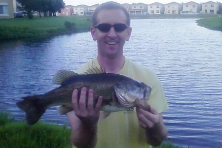 Sam Tasker Shows Bass Fishing Is Good In West Palm Beach, Fl.