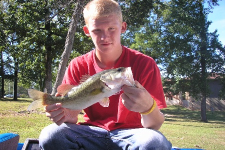 Take A Kid Fishing For Bass