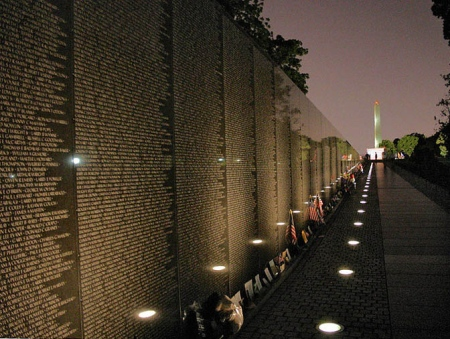 Vietnam War Memorial - Thousands of Name Of Our Veterans' Fallen Comrades - Help Them Get There To Say Goodbye